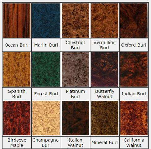 Burl Panels Norva Plastics