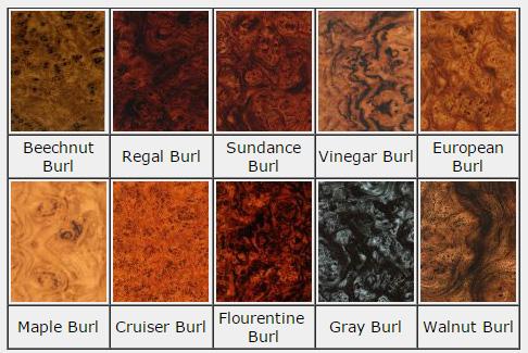 Burl Panels – Norva Plastics